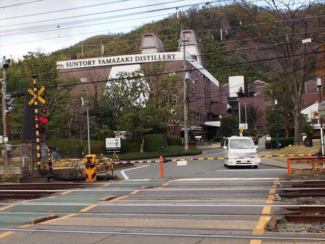 20189d28627b0 Suntory山崎工場を眺めて、大山崎からは淀川右岸へと進みます。